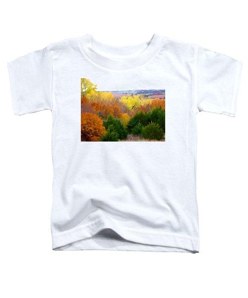 River Bottom In Autumn Toddler T-Shirt