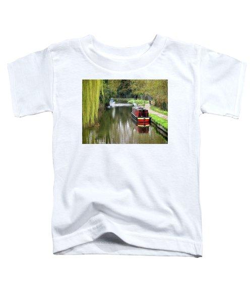 River Stort In April Toddler T-Shirt