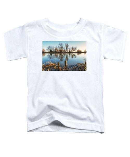 Riverside Trees Toddler T-Shirt