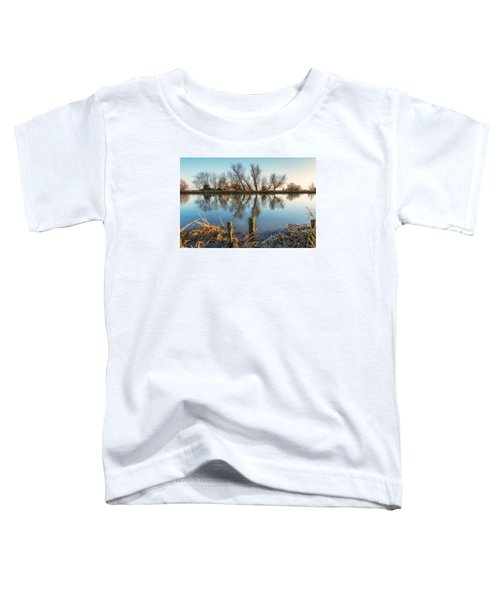 Riverside Trees Toddler T-Shirt