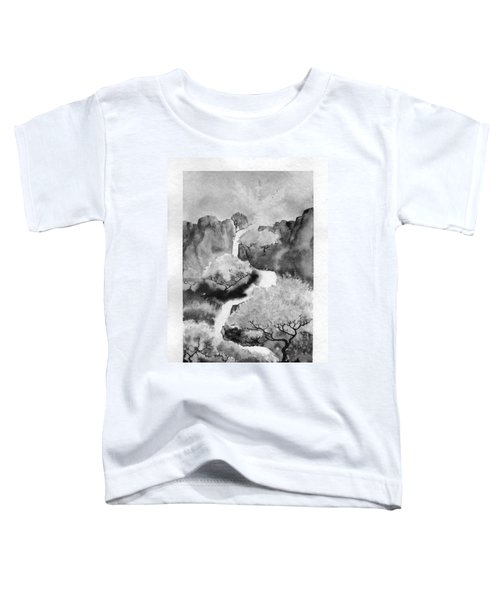 Riviere Celeste Toddler T-Shirt by Marc Philippe Joly