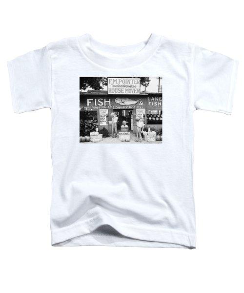 Roadside Stand Near Birmingham, Alabama Toddler T-Shirt