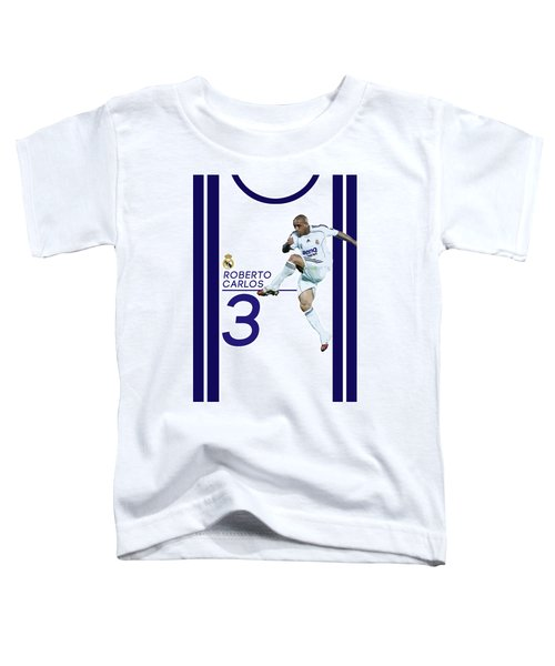 Roberto Carlos Toddler T-Shirt by Semih Yurdabak