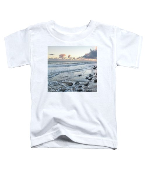 Rocks On The Beach During Sunset Toddler T-Shirt