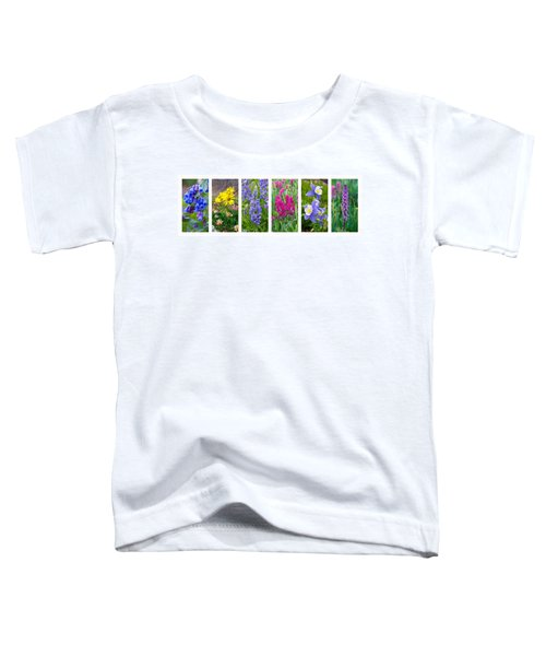 Rocky Mountain Wildflower Collection Toddler T-Shirt