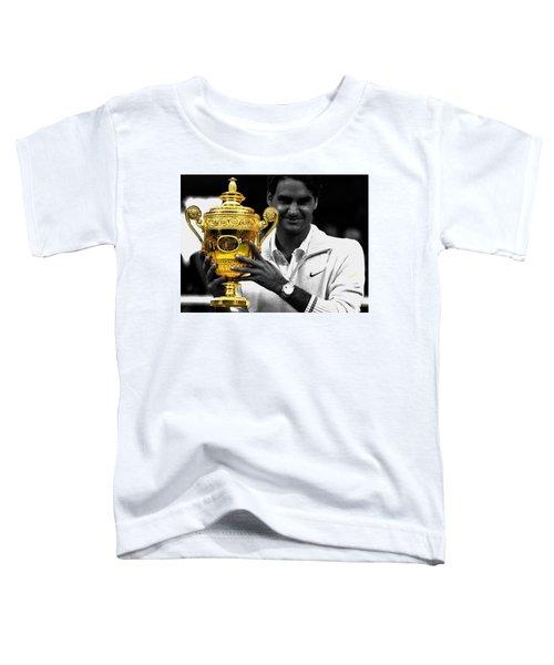 Roger Federer 2a Toddler T-Shirt