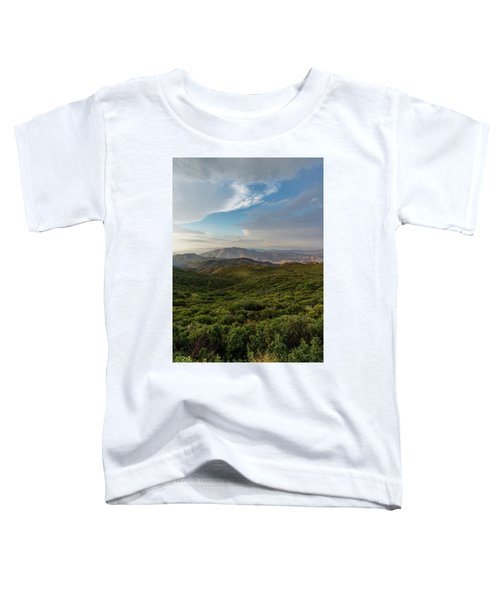 Rolling Hills Of Chaparral Toddler T-Shirt