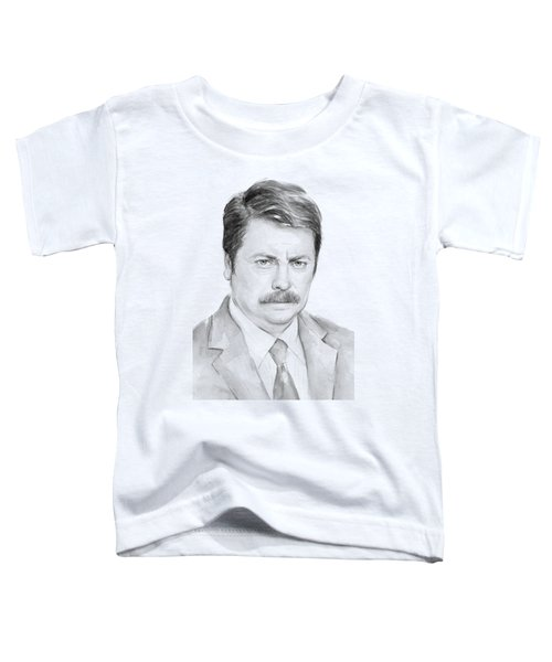 Ron Swanson  Toddler T-Shirt