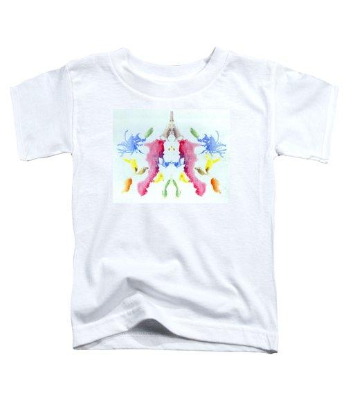 Rorschach Test Card No. 10 Toddler T-Shirt