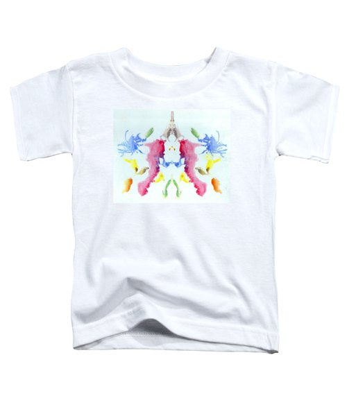 Rorschach Test Card No. 10 Toddler T-Shirt