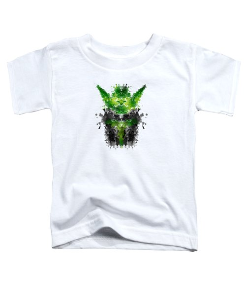 Rorschach Yoda Toddler T-Shirt