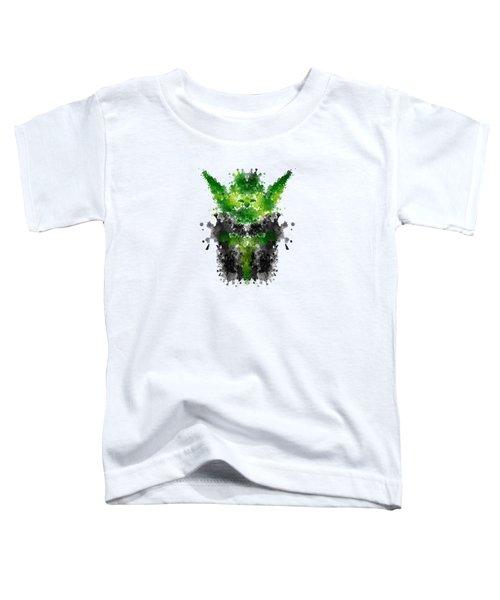 Rorschach Yoda Toddler T-Shirt
