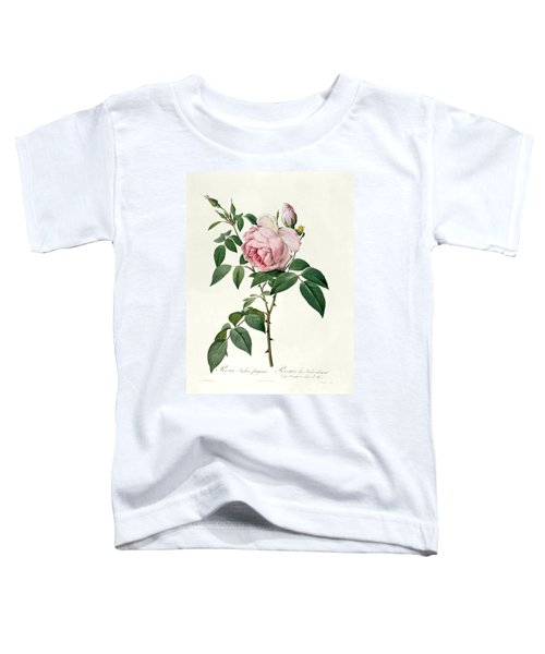 Rosa Chinensis And Rosa Gigantea Toddler T-Shirt