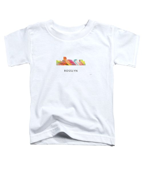 Rosslyn Virginia Skyline Toddler T-Shirt