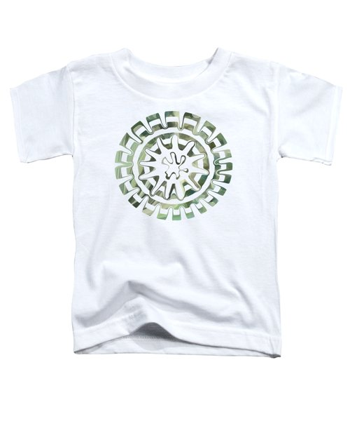 Round About Green Toddler T-Shirt