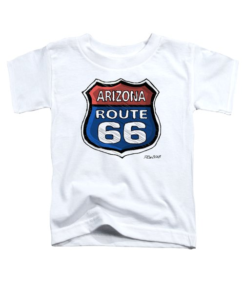 Route 66 Toddler T-Shirt