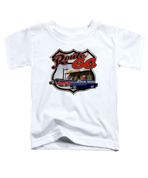 Route Trio Toddler T-Shirt