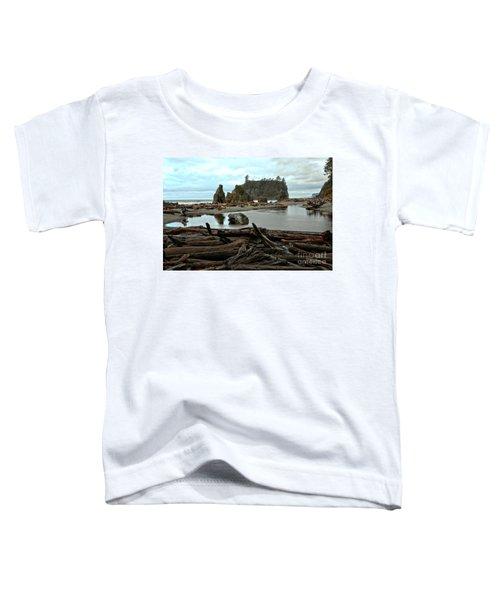 Ruby Beach Driftwood Toddler T-Shirt