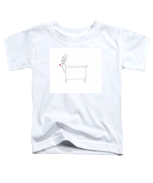 Rudolf The Red Nosed Radiator Toddler T-Shirt