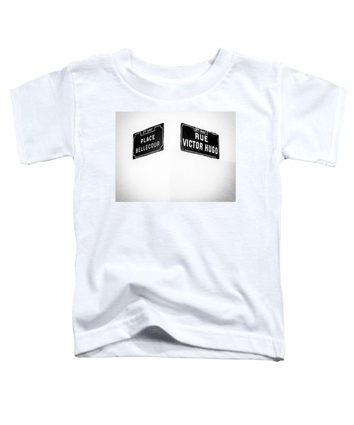 The Corner Of Place Bellecour And Rue Victor Hugo Toddler T-Shirt