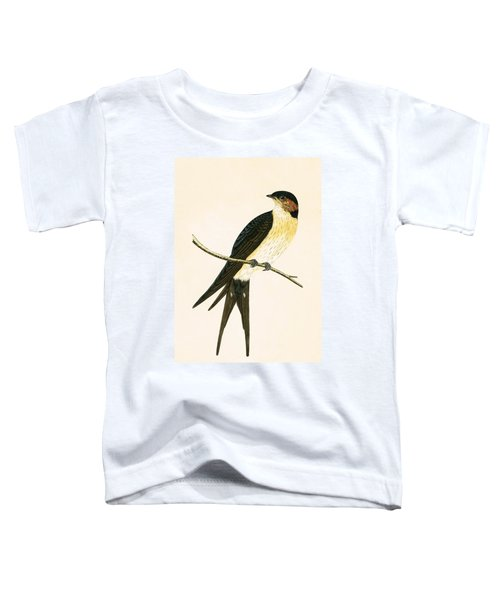 Rufous Swallow Toddler T-Shirt by English School