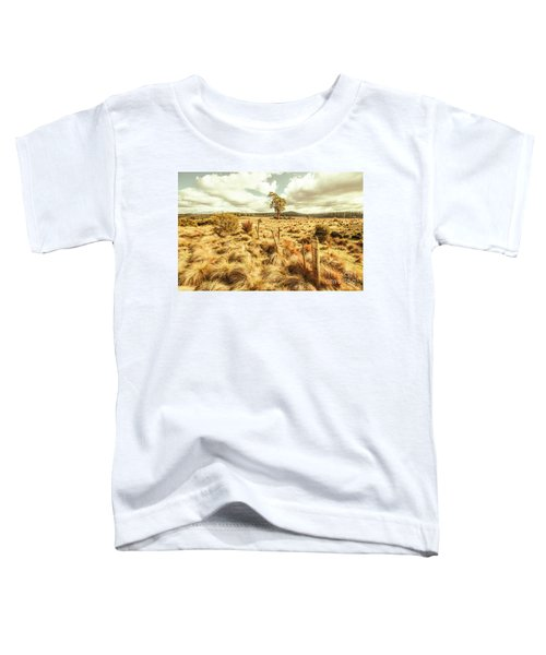 Rugged Australian Pastures Toddler T-Shirt