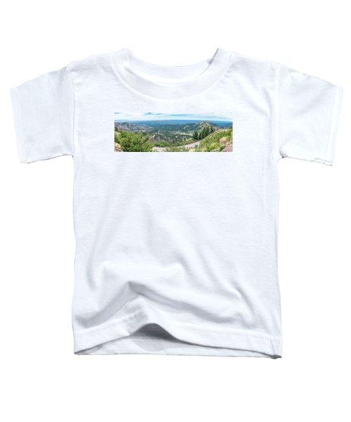 Ruidoso, Nm Panoramic Toddler T-Shirt