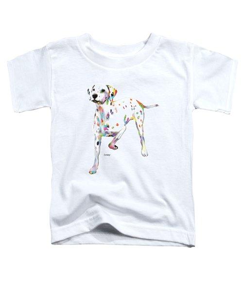 Running Dalmatian Toddler T-Shirt