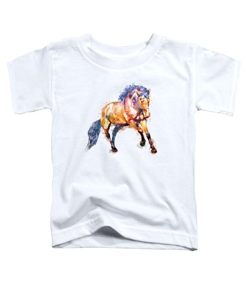 Running Horse Toddler T-Shirt