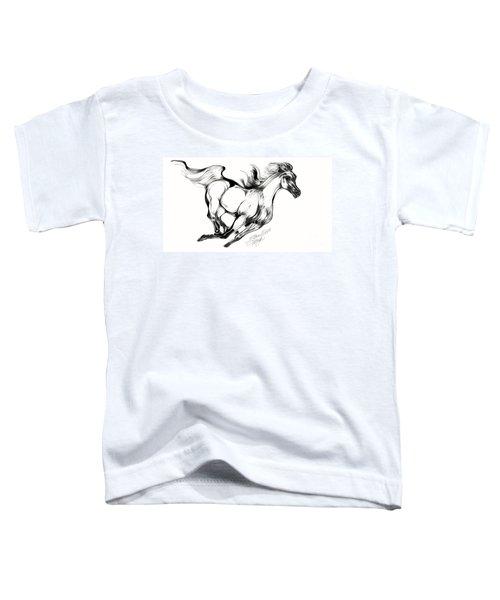 Night Running Horse Toddler T-Shirt