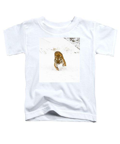 Running Tiger Toddler T-Shirt