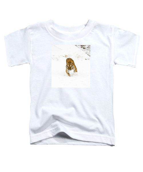 Running Tiger Toddler T-Shirt