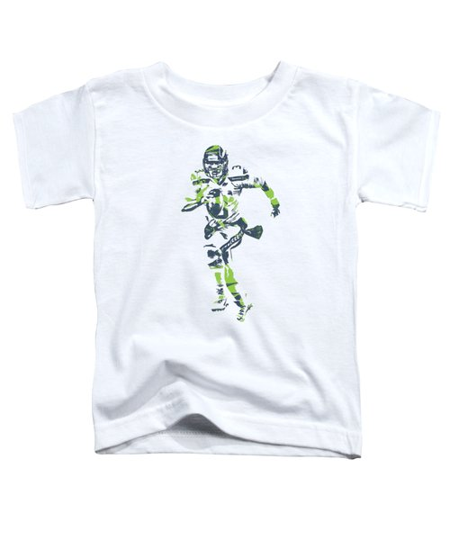 Russell Wilson Seattle Seahawks Pixel Art T Shirt 2 Toddler T-Shirt