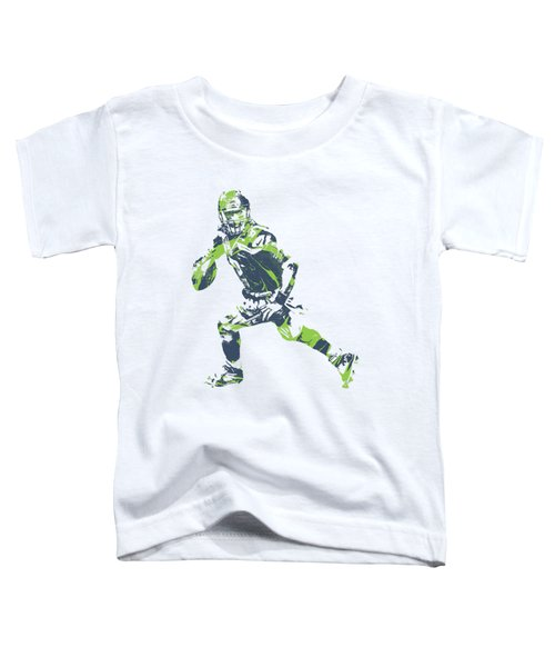 Russell Wilson Seattle Seahawks Pixel Art T Shirt 3 Toddler T-Shirt