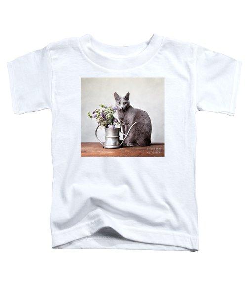 Russian Blue 02 Toddler T-Shirt