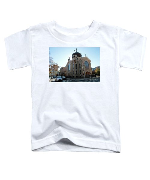 Russian Orthodox Cathedral Of The Transfiguration Of Our Lord Toddler T-Shirt