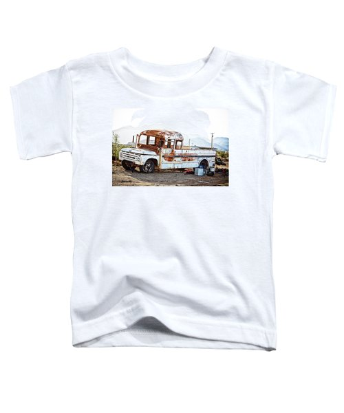 Rusted Abandoned Truck Toddler T-Shirt