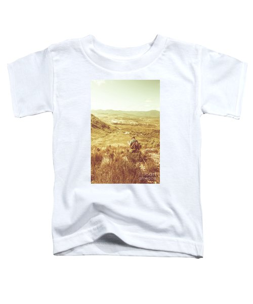 Rustic Rural Bushwalking Landscape Toddler T-Shirt