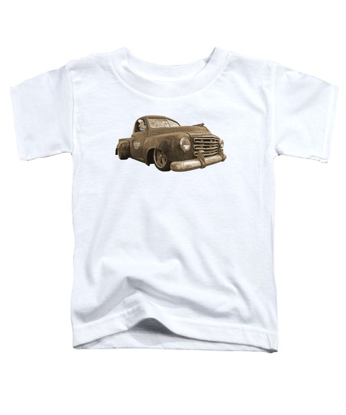 Rusty Studebaker In Sepia Toddler T-Shirt
