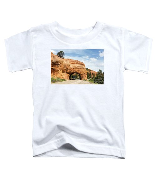 Rv Red Canyon Tunnel Utah Toddler T-Shirt