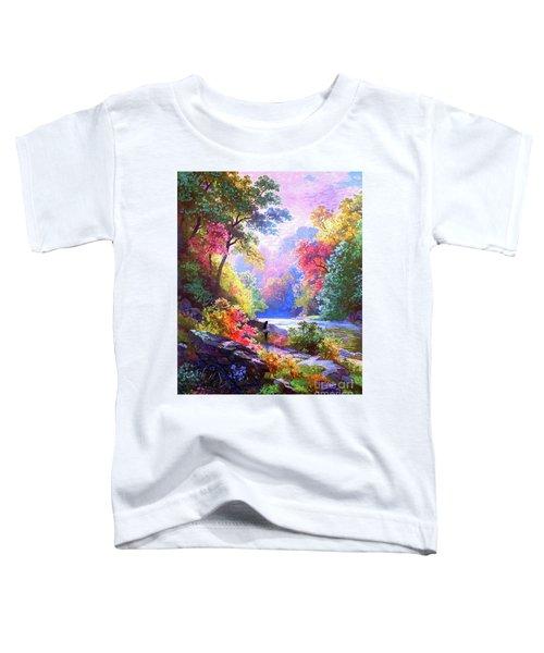 Sacred Landscape Meditation Toddler T-Shirt
