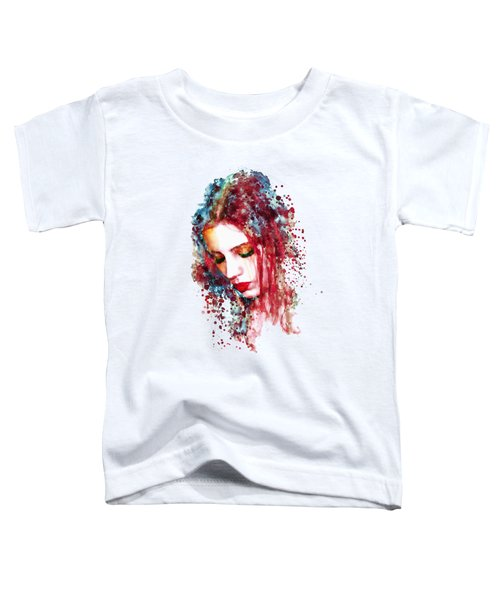 Sad Woman Toddler T-Shirt
