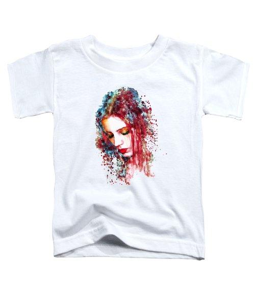 Sad Woman Toddler T-Shirt