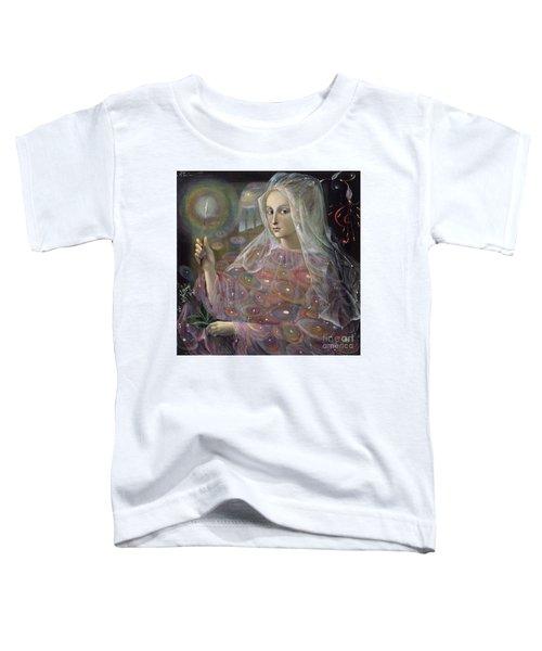 Sagittarius Toddler T-Shirt by Annael Anelia Pavlova