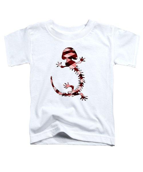 Salamander Skeleton Toddler T-Shirt by Mordax Furittus