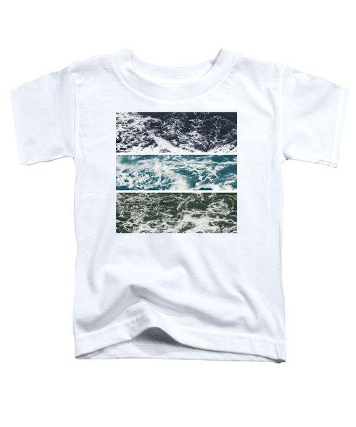 Salt Water Triptych Variation 2 Toddler T-Shirt