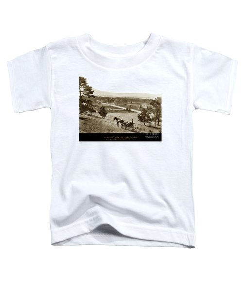 Samuel J. Duckworth Pauses To Look Upon What Would Become Carmel 1890 Toddler T-Shirt