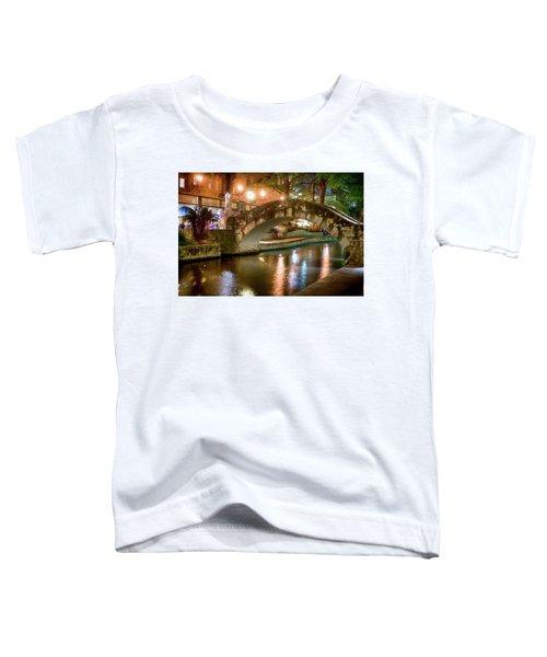 San Antonio River Walk V1 Toddler T-Shirt