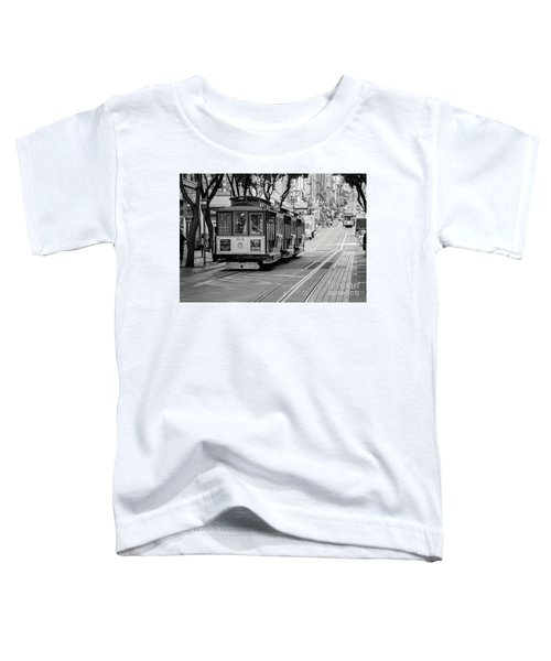 San Francisco Cable Cars Toddler T-Shirt