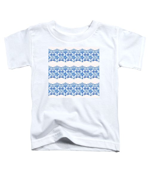 Sand Dollar Delight Pattern 4 Toddler T-Shirt